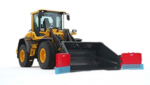 Wheel loader with Siljum's Universal Bucket